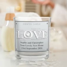 LOVE Scented Jar Candle